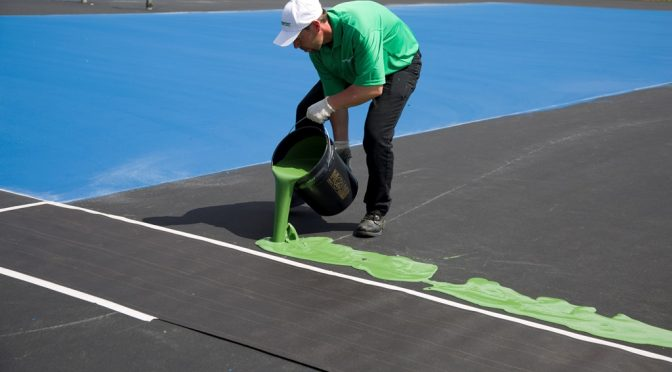 Tennis Court Resurfacing Kansas City