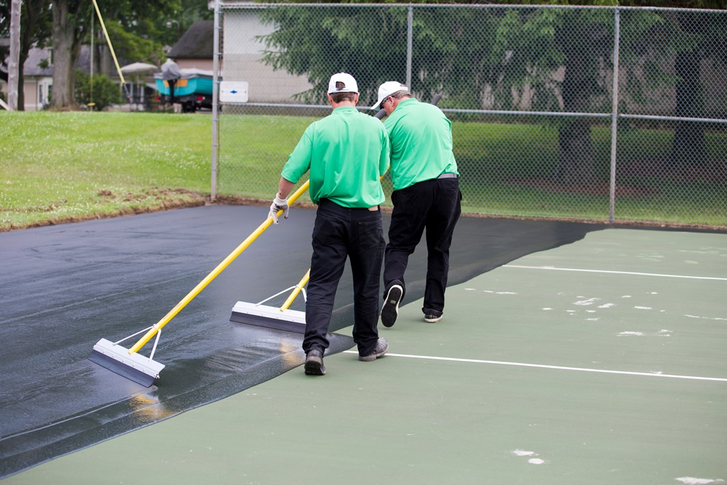 Tennis Court Resurfacing Spokane WA