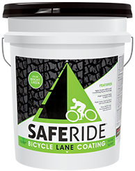 Safe Ride Green Bike Lane Coating