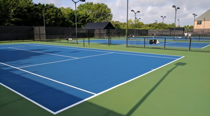Tennis Court Resurfacing Application Tips & Techniques