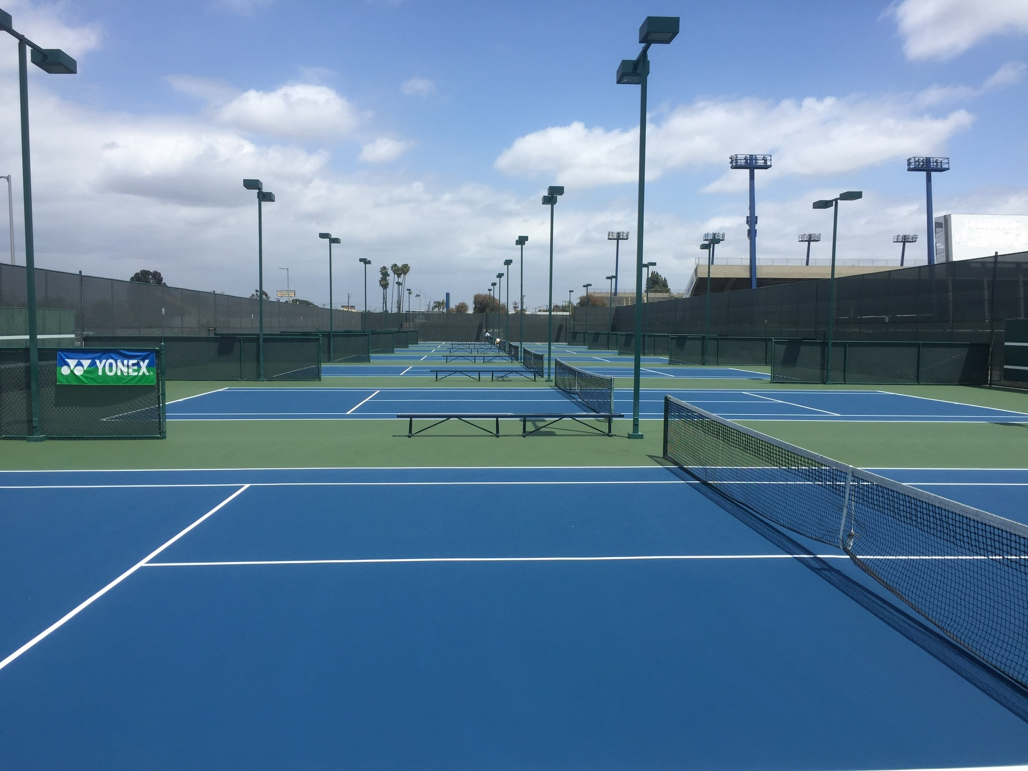 Western Michigan Tennis Court Repair