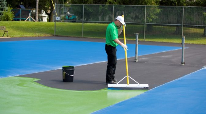 Find Tennis Court Contractors Near Me