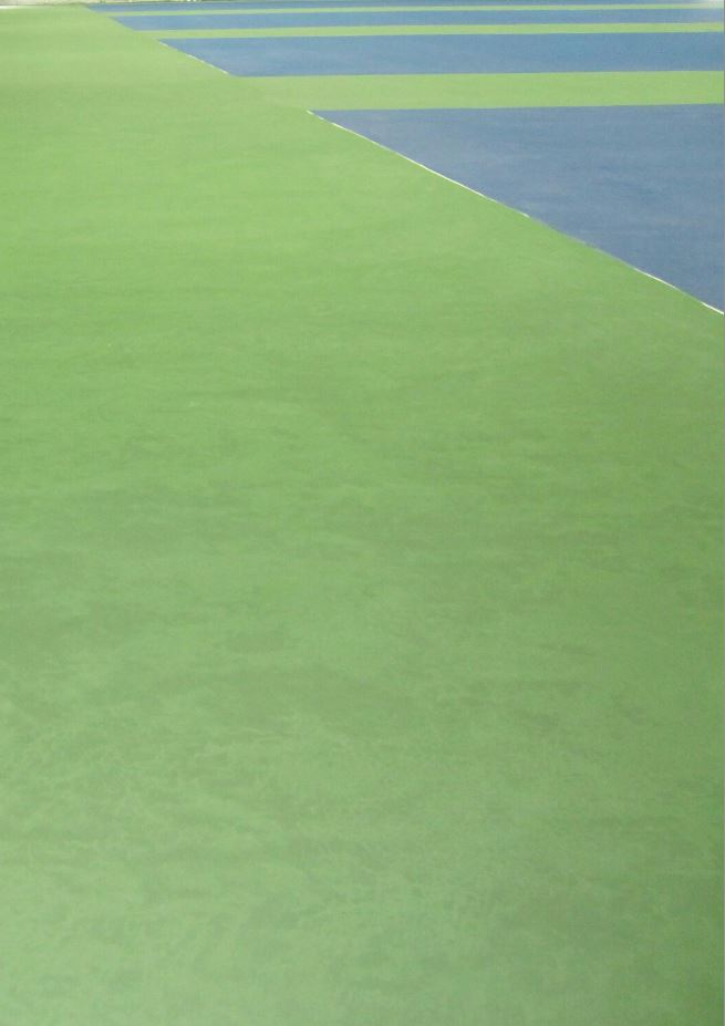 Indoor Tennis Court Drying Problems
