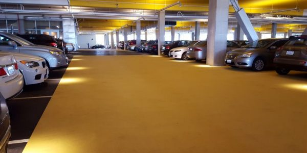 Parking Lot Color Coating