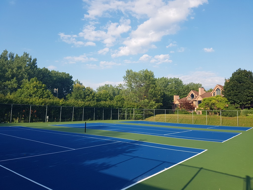 Tennis Court Resurfacing Montreal