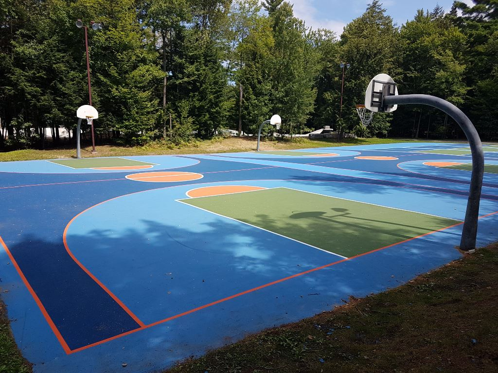 Basketball Court Paint Quebec