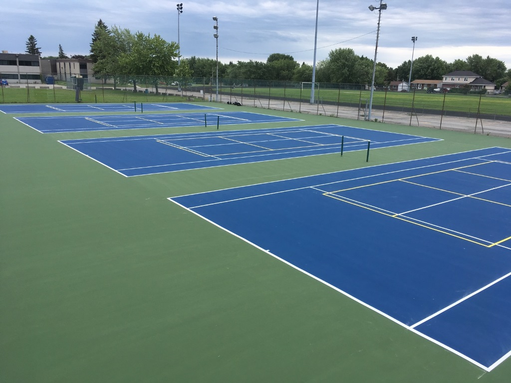 Tennis & Pickleball Courts Quebec