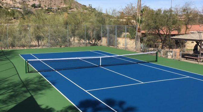 Tennis Court Resurfacing Paradise Valley AZ