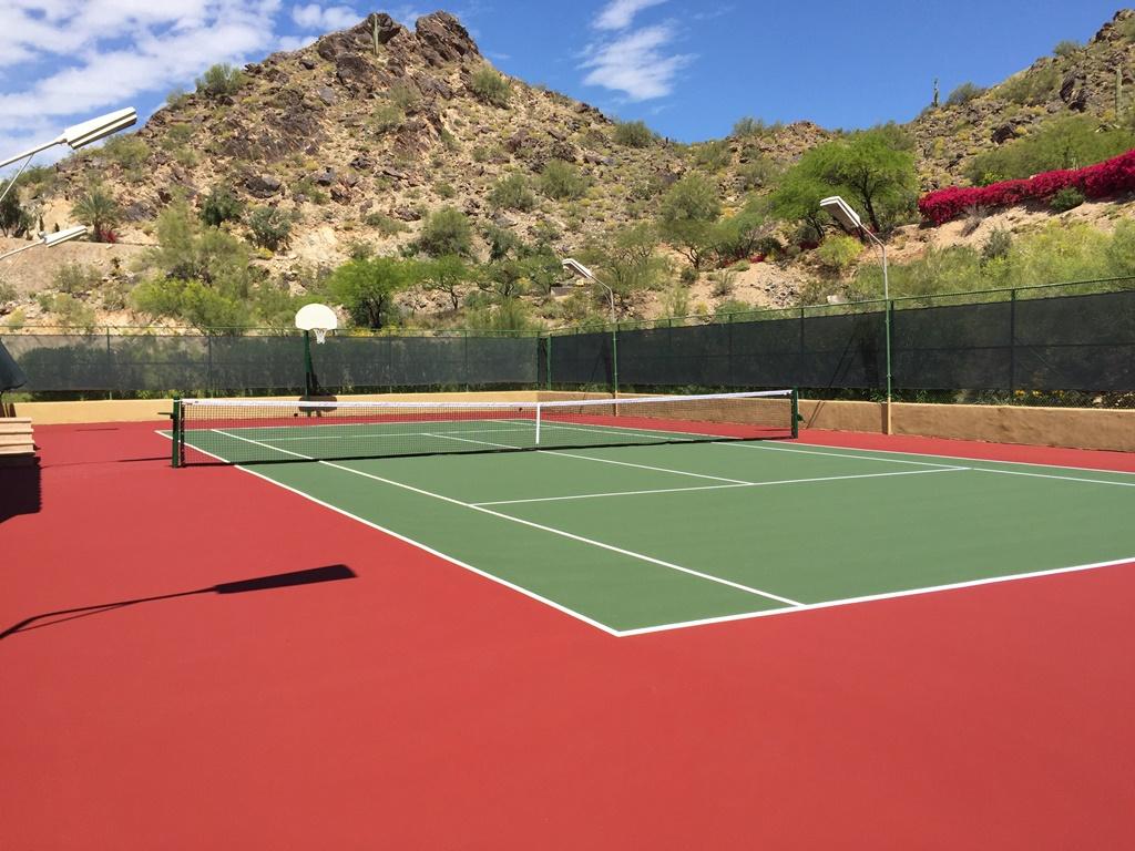 Tennis Court Surfaces Paradise Valley AZ