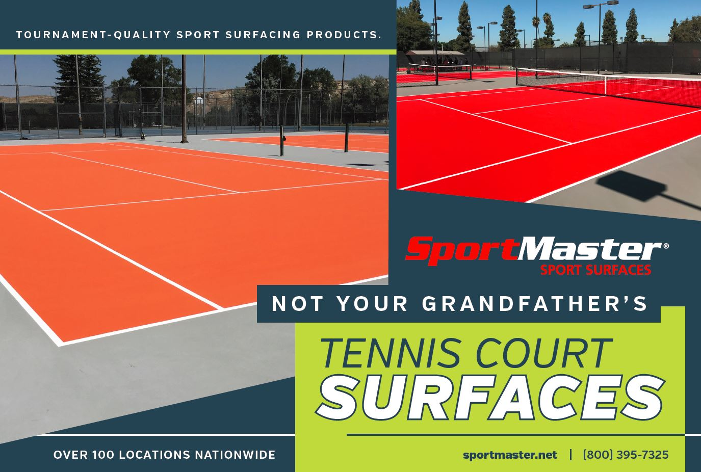 SportMaster Tennis Court Surfaces