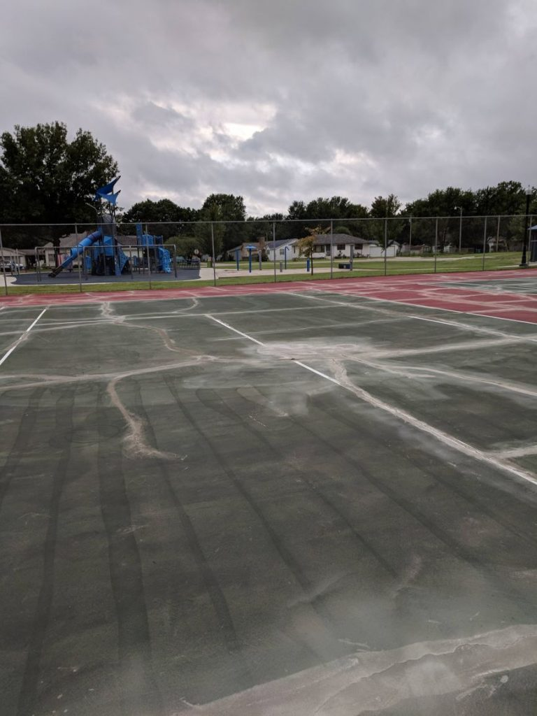Tennis Court Repair Kansas