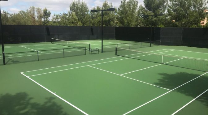 Tennis Court Resurfacing Kansas